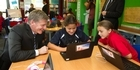 Watch: Bill English in Rotorua
