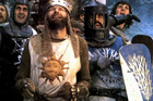 Graham Chapman, as Arthur, King of the Britons, led the search for the Holy Grail. Photo / Supplied