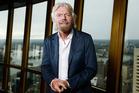 Billionaire Richard Branson, founder of Virgin Group Ltd. Photo / Brendon Thorne