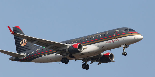 Royal Jordanian was among the first to announce the ban on large electronic devices. Photo / 123RF