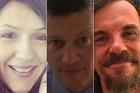 Victims of the attack: Aysha Frade, Keith Palmer and Kurt Cochran.