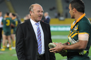 Wally Lewis during the ANZAC rugby league test match between the New Zealand Kiwis and Ausralian Kangaroos. Photo/Photosport