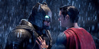 Ben Affleck and Henry Cavill in Batman v Superman, which has a 27 percent score on Rotten Tomatoes. Photo / Warner Bros