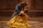 Dan Stevens as The Beast and Emma Watson as Belle in a live-action adaptation of the animated classic Beauty and the Beast. Photo/AP