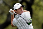 Rory McIlroy, of Northern Ireland, lost to Denmark's Soren Kjeldsen 2-and-1. Photo / AP