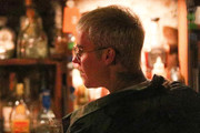 Justin Bieber enjoys a drink at Arrowtown bar The Blue Door. Photo: AKM-GSI/Backgrid
