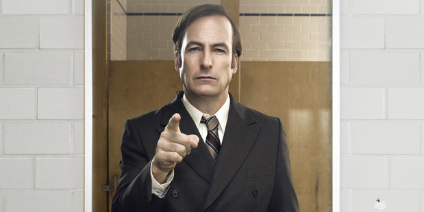 Loading Bob Odenkirk as Saul Goodman in Better Call Saul