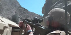 A helmet cam image of New Zealand forces in a firefight in Afghanistan in 2013. Photo / NZDF