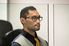 Mikio Filitonga appears in the Auckland District Court on charges of deliberate HIV infection. Photo/Jason Oxenham.