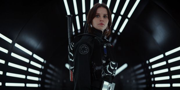 Jyn Erso (Felicity Jones) is Rogue One's troubled young hero. Photo / Supplied