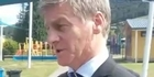 Watch: WATCH: Bill English press conference in Rotorua
