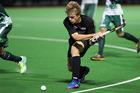 New Zealand goal scorer Sam Lane in action against Pakistan. Photo / Photosport