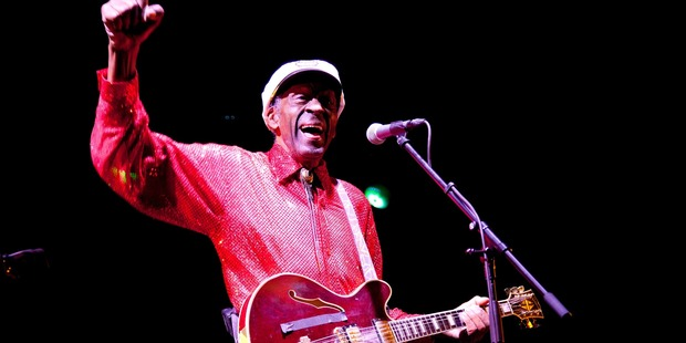 Loading Chuck Berry performing in Moscow, 2013. Photo / Getty Images