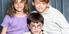 Actors Emma Watson, Rupert Grint and Daniel Radcliffe in 2000. Photo / Getty
