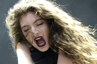 Lorde performs during 2014's Lollapalooza at Grant Park in Chicago. Photo/Getty