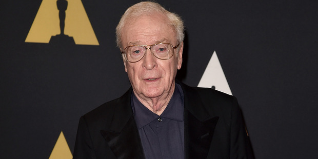 Actor Michael Caine is fearing for his health. Photo / Getty Images