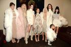 Khloe Kardashian, Kris Jenner, Kendall Jenner, Kourtney Kardashian, Kim Kardashian West, North West, Caitlyn Jenner and Kylie Jenner. Photo / Getty Images