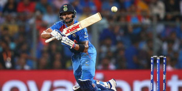 Virat Kohli of India bats during the ICC World Twenty20 tournament. Photo.Getty Images