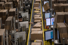 Inside an Amazon factory. Photo / Getty Images