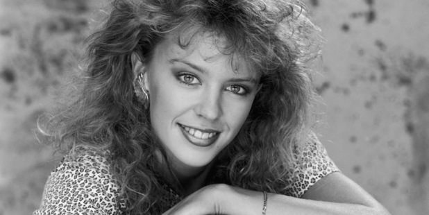 Australian pop singer and star of 'Neighbours', Kylie Minogue, circa 1990. Photo / Getty