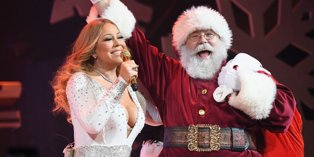 Mariah is cashing in on All I Want for Christmas with a new movie. Photo / Getty Images