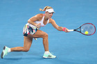 Angelique Kerber during the 2017 Brisbane International event. Photo / Getty Images