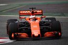 Stoffel Vandoorne during the Formula One winter testing at Circuit de Catalunya. Photo / Getty Images