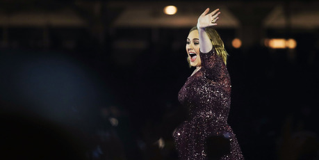Adele performs in Sydney, Australia. Photo / Getty