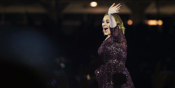 Adele performs in Sydney, Australia. Photo / Getty
