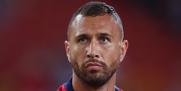 Quade Cooper of the Reds. Photo / Getty Images.