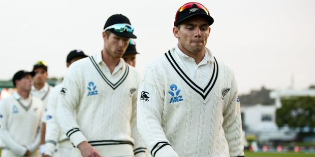 Tom Latham and Jimmy Neesham are two players who need to deliver on the selectors faith in them. Photo / Getty