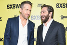 Ryan Reynolds and Jake Gyllenhaal are friends and they can prove it. Photo / Getty Images