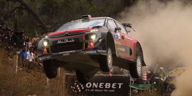 Kris Meeke on his way to winning Rally Mexico. Photo / Red Bull Media