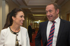 Labour deputy-leader Jacinda Ardern (left) and leader Andrew Little. Photo / Mark Mitchell