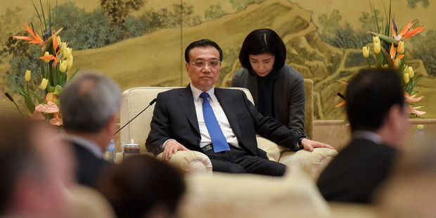 China's Premier Li arrives in New Zealand for talks