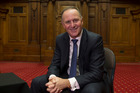 Former Prime Minister John Key at Parliament in Wellington. Photo / Mark Mitchell