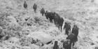 Searchers head up the Otira Valley from State Highway 73. Photo / NZHerald Archive