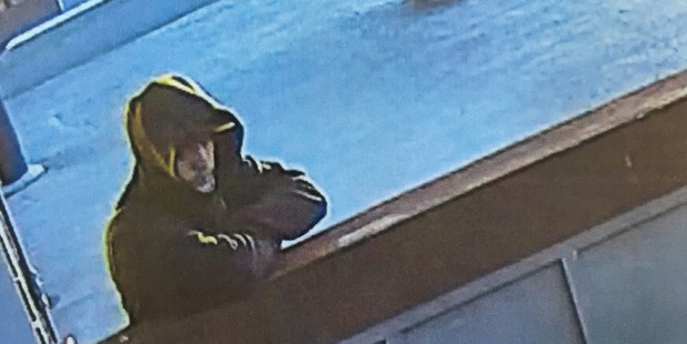 Do you know this man? Hamilton police want to speak to him in relation to an armed robbery of the Yard House pub, Nawton, on Saturday night. Photo/Police