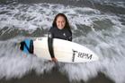 Mount Maunganui surfer Raiha Ensor, 17, has framed her life around her love of surfing. Photo/John Borren