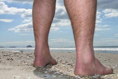 NAKED REALITY: Some Papamoa beachgoers do not like sharing space with nudists. PHOTO / JOHN BORREN