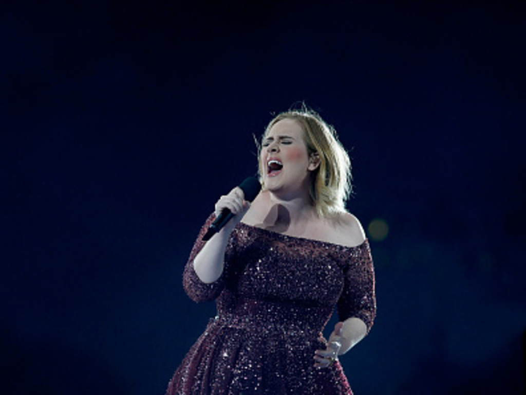 It could be raining more than just hits at Adele's final gig in Auckland tonight