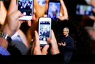 Apple CEO Tim Cook has likened AR's game-changing potential to that of the smartphone. Photo / AP