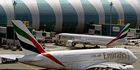 Flights from Dubai to the United States are affected by a laptop ban. Photo / AP