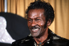 American singer and guitarist Chuck Berry is shown at the Grammy Awards in Los Angeles in 1984. Photo / AP