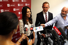 Labour Party leaders Andrew Little and Jacinda Ardern are visiting Rotorua next month. Photo/File