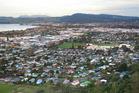 Rotorua aerial