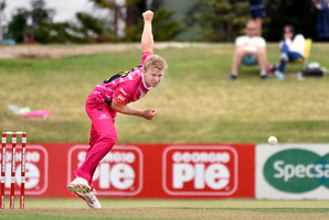Scott Kuggeleijn in action for Northern Districts. Photo/Bay of Plenty Times