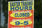 Greymouth businesses will be able to open for commerce this Easter. Photo/File