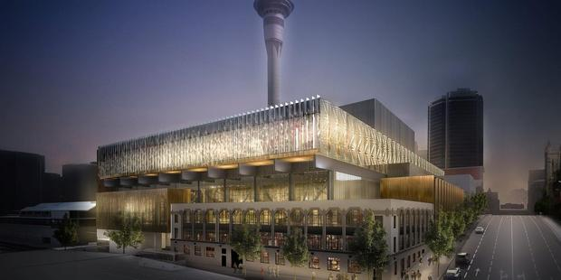 Loading Plans for the NZICC, now blamed for $40m of losses by Fletcher Building, even though the contract is only in its early phase.