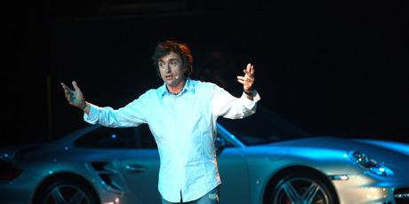 Richard Hammond pictured during Top Gear Live at the ASB Showgrounds, Auckland. Photo / Norrie Montgomery